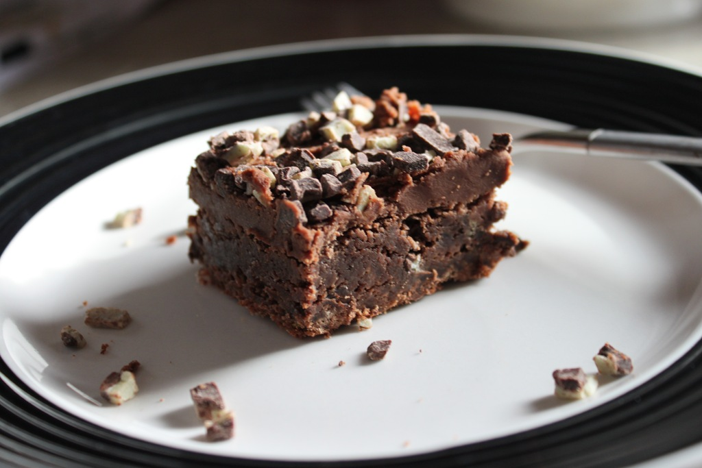 Mint Brownies Feisty Eats